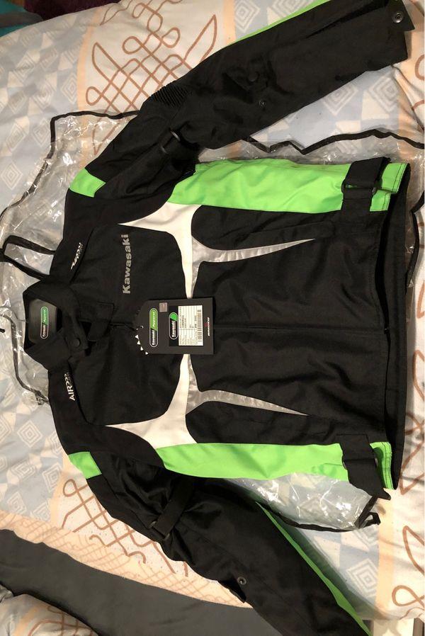 Verkaufe Kawasaki Textil Motorradjacke