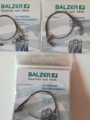 NEU Balzer 7x7 Niroflex Edelstahlvorfach
