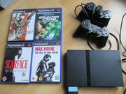 PS2 SLIM Komplettpaket