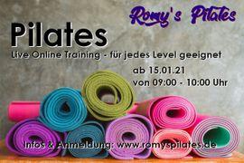 Trainiere Pilates live und online: Kleinanzeigen aus Darmstadt Innenstadt - Rubrik Schulungen, Kurse, gewerblich