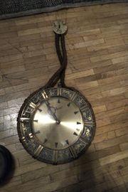 antik Hangeuhr lampenschirm Hangelampe Presse