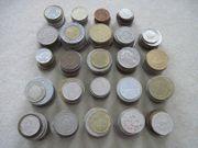 240 Münzen Münzsammlung international Europa
