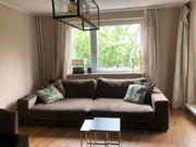 Couch von Rahaus mit Hocker