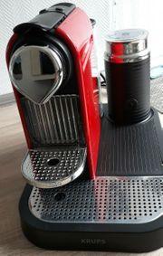 Krups citiz Kaffee-Vollautomat Farbe Cherry