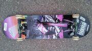 Skateboard - Wenig gebraucht neue Achsen