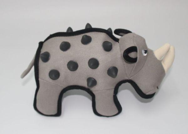 Hundespielzeug extra stark Modell Rhino