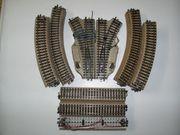 3 Märklin H0 M-Gleis Schienenanlage