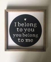 Bild mit Aufschrift I belong