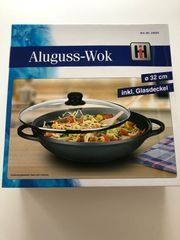 Aluguss-Wok