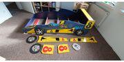 Kinderbett im Rennwagen Design inkl