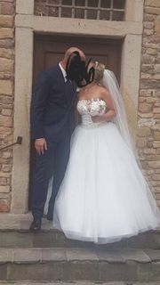 Swarovski Hochzeitskleid