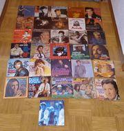 31 verschiedene single schallplatten mit