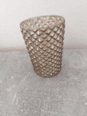 Depot Teelicht Glas gold NEU
