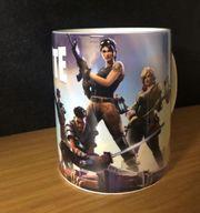 Fortnite Tasse Kaffeetasse Kaffeebecher - Gaming