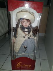Porzellan Sammler Puppe Original verpackt