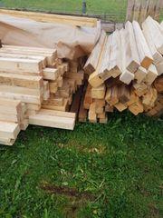 Vierkantholz oder Konstruktionsholz