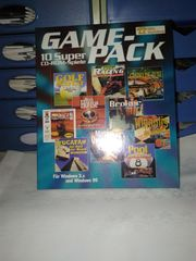 Game-Pack - 10 CD-Rom Spiele - Windos