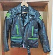 Kawasaki Lederjacke aus den 70igern