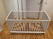 Babybett Umbaubar zum Juniorbett incl