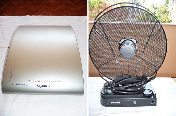 DAB DVB-T2 Antenne aktiv Stück 10