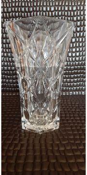 Alte Bleikristall Vase