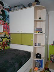 Schicke helle Jugendzimmer Möbel von