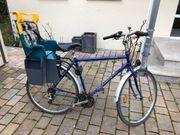 Fahrrad mit Kindersitz