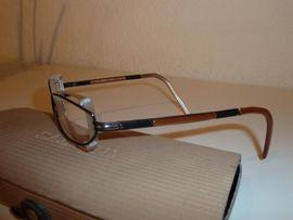 Bild 4 - JOOP-Brillengestell randlos unisex schwarz-braun-gold original - Gelsenkirchen Heßler