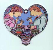 Rosenthal Porzellan Herz zum Aufhängen