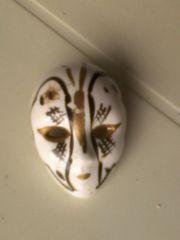 Maske - Anstecker - Brosche - mehrfarbig - Masken - Ansteckbrosche