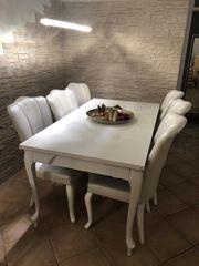 Esstisch Set mit 6 Stühlen