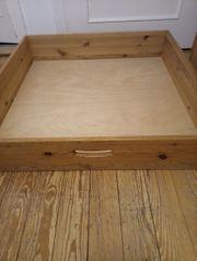 Bettkasten aus Massivholz 3 Stück
