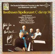 Vinyl-LP Beethoven Triple-Konzert C-dur op 56