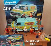 3 Playmobil Scooby Dooh Sets
