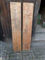 Hartholz-Dielen Paar gebraucht 146cm lang