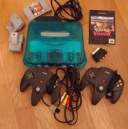 N64 mit 2 Controllern 2