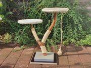 Kratzbaum für Katzen aus Naturholz
