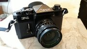 Analoge Spiegelreflex Kameras Canon EF