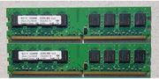MDT Arbeitsspeicher RAM 2x1GB DDR2