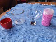 2 kleine Vasen Schalen 1x