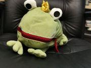 Froschkönig mit Maultasche