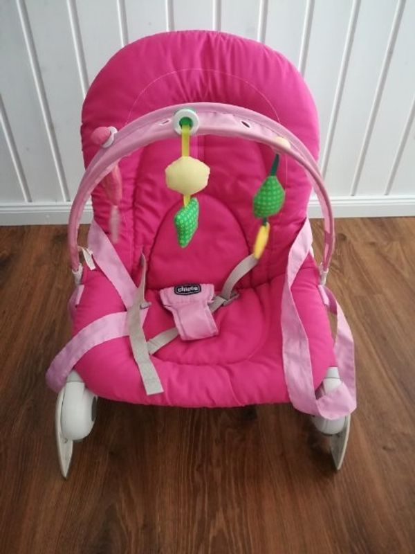 Chicco Baby Wippe Babyschaukel pink