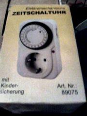 Zeitschaltuhr - elektromechanische Zeitschaltuhr mit Kindersicherung -