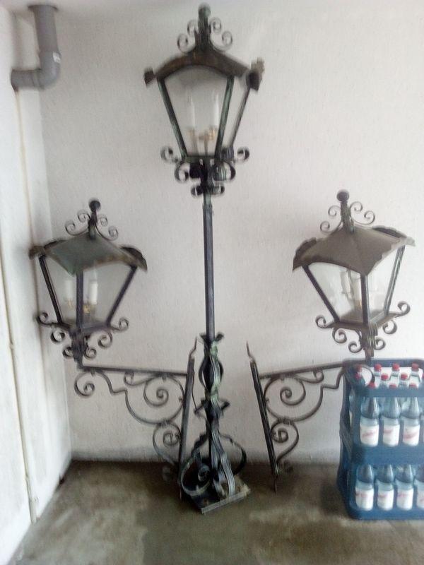 Schmiedeeiserne Haus Garten Aussenlampen