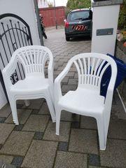 4 Gartenstühle mit Klapptisch