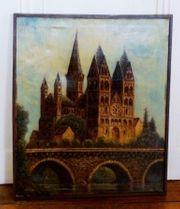 2 alte Gemälde Ölgemälde Limburg