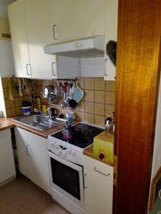 Küche in mattem Rohweiß