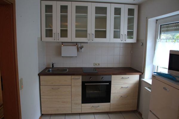 IKEA Metod Küchenzeile mit E-Geräten