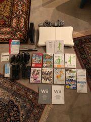 Wii Konsole inklusive Zubehör