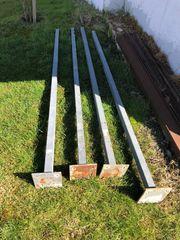 4 x Stahlträger 3 m